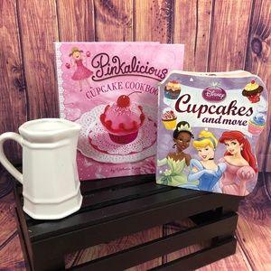 Other - Set of 2 Girls Cupcake Cookbooks
